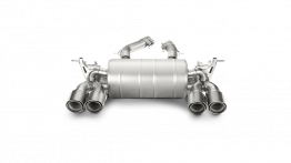 Akrapovic Slip-On Line Titanium Exhaust - BMW F80/F82 M3/M4 (Carbon Fiber Tips)